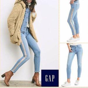 Gap True Skinny Ankle Jeans